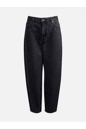 Never denim Barrel Black jeans