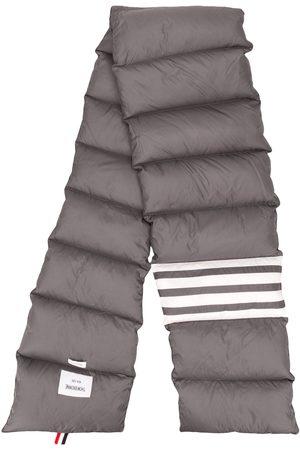 Thom Browne Vadderad halsduk med randdetalj