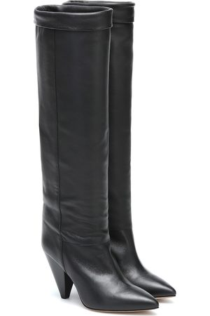 Isabel Marant Loens leather knee-high boots