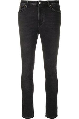 Acne Studios Peg Used Blk skinny-jeans