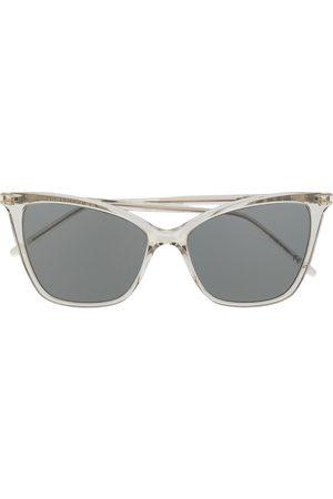 Saint Laurent Kvinna Solglasögon - SL 384 thin cat-eye sunglasses