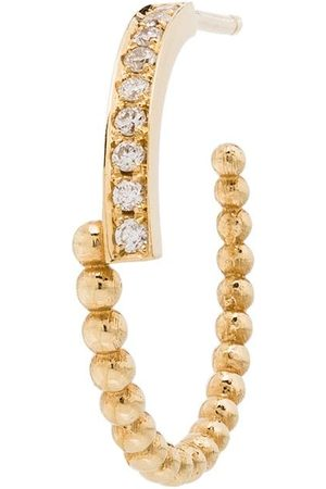 KIMAI Diamantörhänge i 18K gult guld