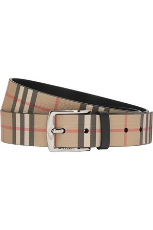 Burberry Man Bälten - 35mm Coated Check Belt