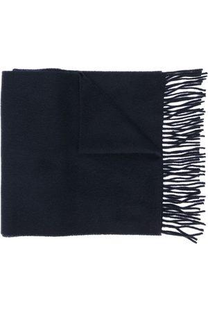 Yves Saint Laurent Sjalar - Woven fringed scarf