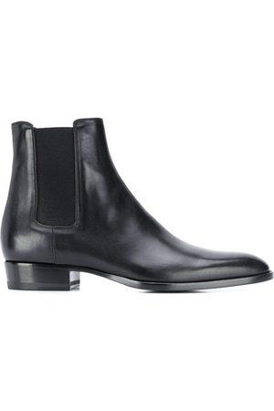 Saint Laurent Chelsea-boots i läder