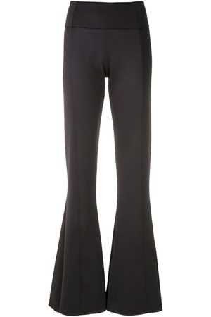 AMIR SLAMA Kvinna Byxor - Panelled flare trousers