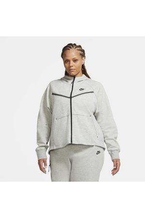 Nike Huvtröja med hel dragkedja Sportswear Tech Fleece Windrunner för kvinnor (Plus Size)