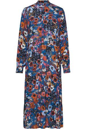 Six Ames Kvinna Festklänningar - Coleena Maxiklänning Festklänning Multi/mönstrad