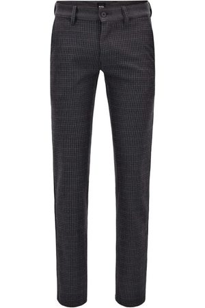 HUGO BOSS Slim pants mix Schino-Slim checks