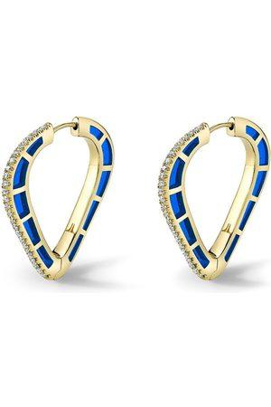 Andy Lif Cobra diamantörhängen i 18K guld