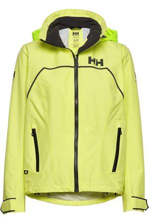 Helly Hansen Kvinna Jackor - W Hp Foil Light Jacket Outerwear Sport Jackets Gul