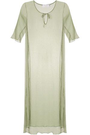 Brigitte Strandklänning i siden