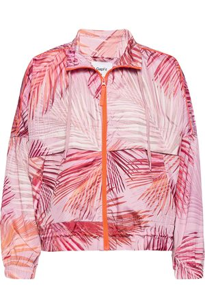 GAP Fit Lighweight Windbreaker Sommarjacka Tunn Jacka Rosa