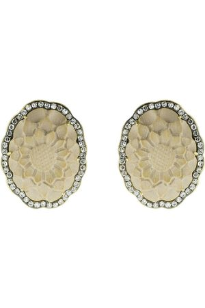 Sylva & Cie Diamantörhängen i 18K gult guld
