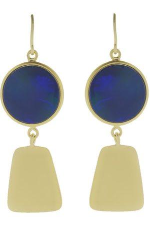 Sylva & Cie Maya Collection örhängen i 18K gult guld