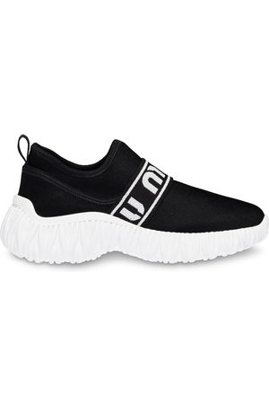 Miu Miu Stickade slip on-sneakers