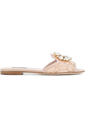 Dolce & Gabbana Bianca tofflor