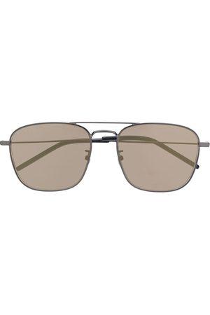 Saint Laurent Solglasögon med fyrkantiga bågar