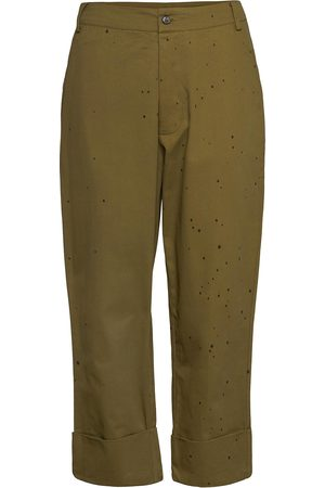 Rabens Saloner Kvinna Trekvartsbyxor - Nannali Trousers Capri Trousers Rabens Sal R