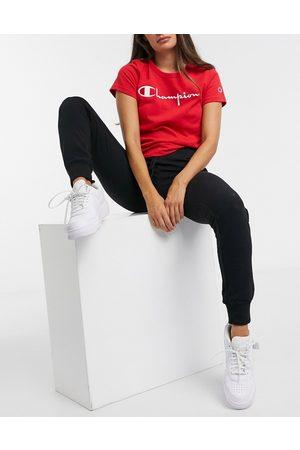 Champion Kvinna Joggingbyxor - – Svarta joggers med logga
