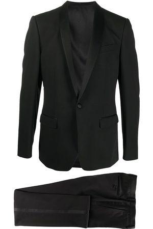 Dolce & Gabbana Enkelknäppt kostym med sjalslag