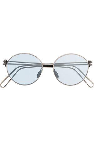 WERKSTATT:MÜNCHEN Runda solglasögon med slitning