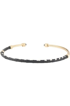 Gas Bijoux Ariane raffia choker necklace
