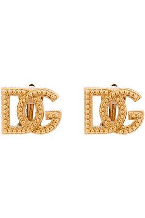 Dolce & Gabbana DOLCE GLD MINI STUD DG ERNG
