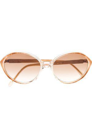Yves Saint Laurent Ovala solglasögon från 1980-talet