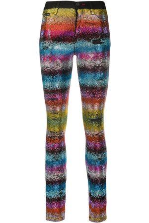 Philipp Plein Rainbow Crystal jeans
