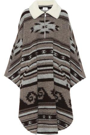 Isabel Marant Gabo wool-blend zipped poncho