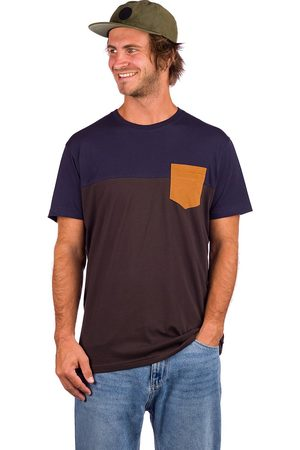 Iriedaily Block Pocket T-Shirt chocolate