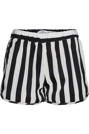 Dedicated Kvinna Shorts - Shorts Sandvika Big Stripes Shorts Flowy Shorts/Casual Shorts