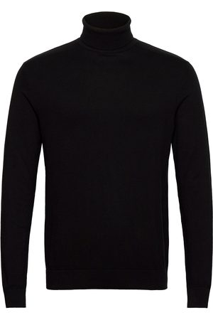 Selected Man Stickade tröjor - Slhberg Roll Neck B Noos Knitwear Turtlenecks Lila
