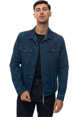 Kiton Denim harrington jacket