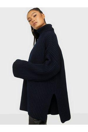 Samsøe Samsøe Kvinna Stickade tröjor - Keiko turtleneck 11250 Stickade tröjor