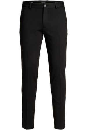 Jack & Jones Man Chinos - Junior Svarta Byxor Man