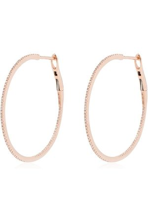 Dana Rebecca Designs Kvinna Örhängen - 14kt diamond hoop earrings