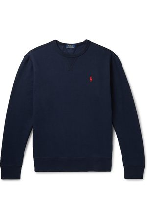 Polo Ralph Lauren Fleece-Back Cotton-Blend Jersey Sweatshirt