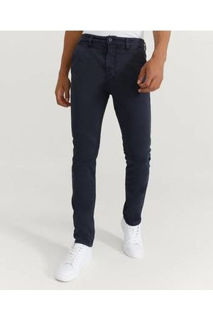 Nudie Jeans Chinos Slim Adam Dark Midnight