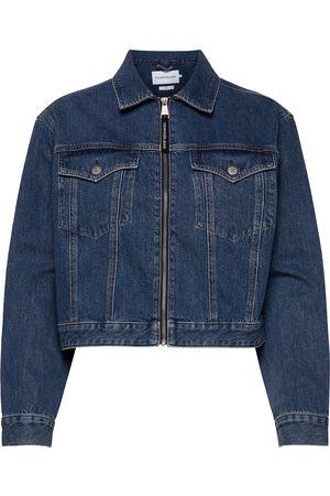 Calvin Klein Cropped Foundation Denim Jacket Jeansjacka Denimjacka