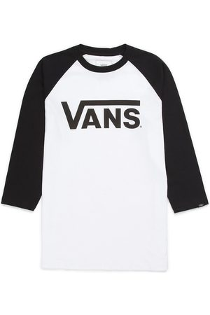 Vans Classic Raglan Long Sleeve T-Shirt white/black
