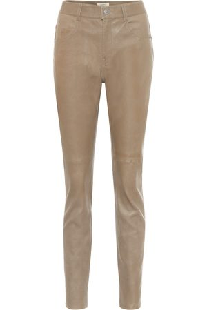 Isabel Marant Taro high-rise skinny leather pants