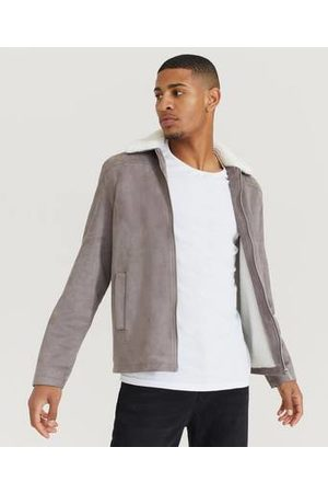 Studio Total Man Vinterjackor - Jacka Teddy Fake Suede Jacket