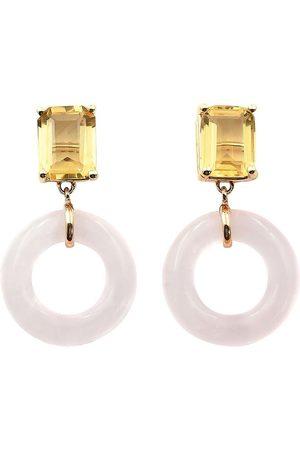 BONDEYE JEWELRY örhängen i 14K gult guld