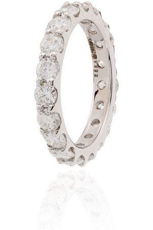Eera Diamantörhängen i 18K vitguld