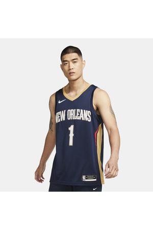 Nike Man Träningsutrustning - Zion Williamson Pelicans Icon Edition 2020 NBA Swingman Jersey