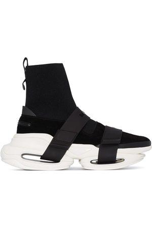 Balmain Man Sneakers - BBold höga sneakers