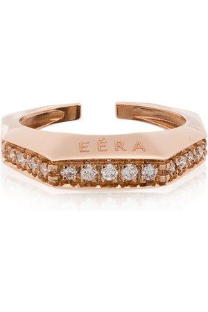 Eera Sabrina cuff-örhänge i 18K roséguld med diamanter