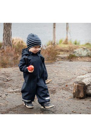 Polarn O. Pyret Baby Bodys - Skaloverall fodrad baby mörk marinblå